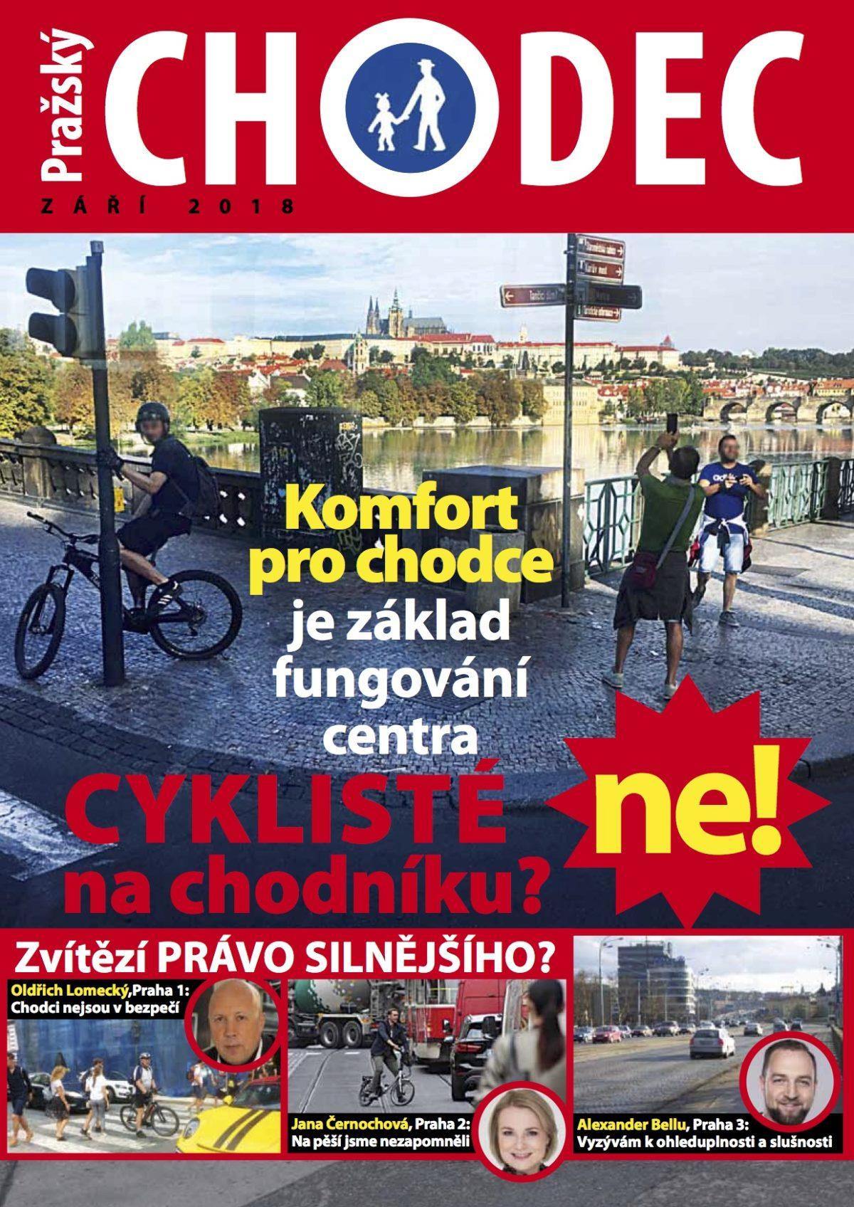Pražský CHODEC přichází… Nový magazín ve Vaší schránce!